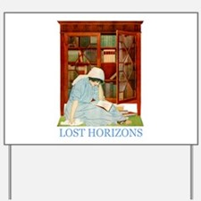 LOST HORIZONS by Coles Phillips Yard Sign