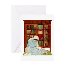 LOST HORIZONS by Coles Phillips Greeting Card