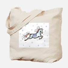 Starry Sky Horse Tote Bag