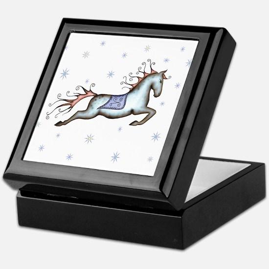 Starry Sky Horse Keepsake Box
