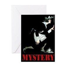 MYSTERY! Greeting Card