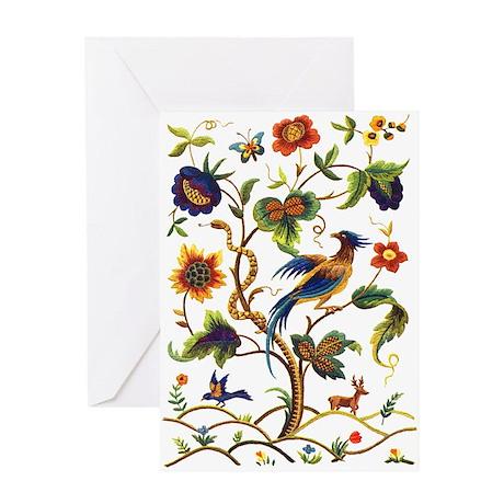 Warwick Embroidery Greeting Card