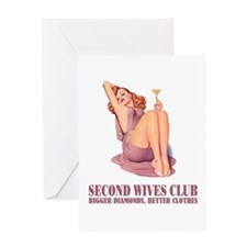 SECOND WIVES CLUB Greeting Card