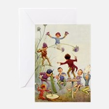 FAIRY ORCHESTRA Greeting Card