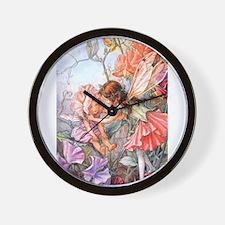 SWEET PEA FAIRY II Wall Clock