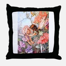 SWEET PEA FAIRY II Throw Pillow