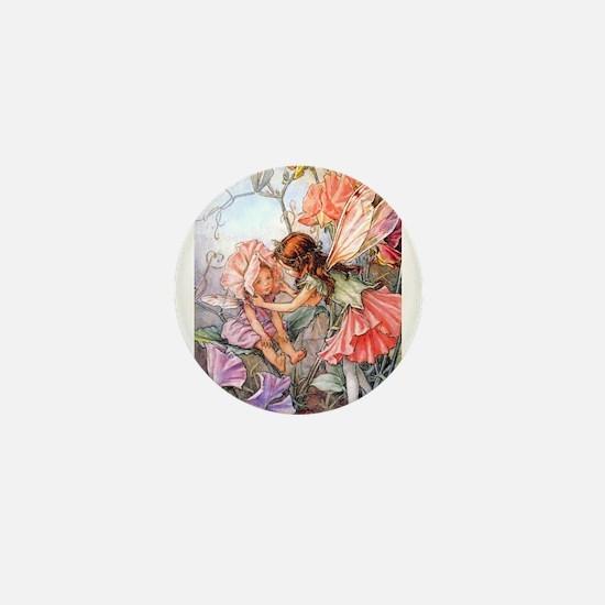 SWEET PEA FAIRY II Mini Button