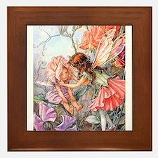 SWEET PEA FAIRY II Framed Tile
