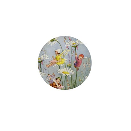 MOON DAISY FAIRIES Mini Button