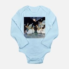 NAUTILUS FAIRIES Long Sleeve Infant Bodysuit