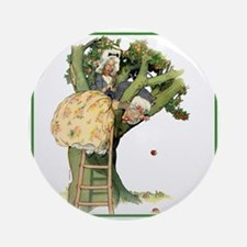PRUNING THE FAMILY TREE Ornament (Round)