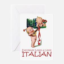 KEWPIES: LITTLE ITALIAN Greeting Card