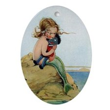 LITTLE MERMAID Ornament (Oval)