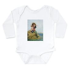 LITTLE MERMAID Long Sleeve Infant Bodysuit