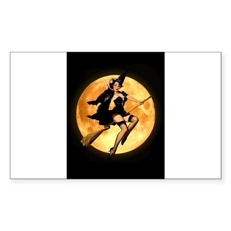 SEXY WITCH Sticker (Rectangle)