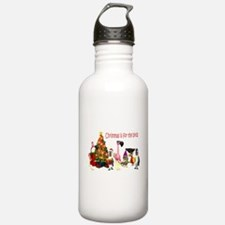 CHRISTMAS IS FOR THE BIRDS Water Bottle