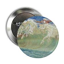 "NEPTUNE'S HORSES 2.25"" Button"