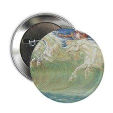 "NEPTUNE'S HORSES 2.25"" Button (10 pack)"