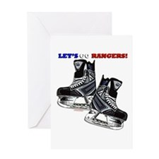 Unique Hockey rules Greeting Card
