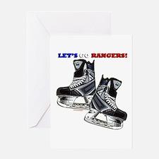 Unique Dad hockey goalie Greeting Card