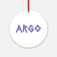 argo Ornament (Round)