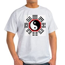 I ching  Ash Grey T-Shirt