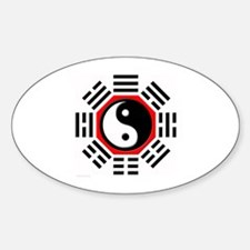 I ching Oval Decal