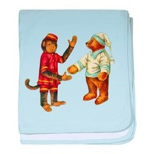 MONKEY & BEAR baby blanket