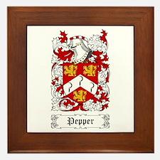 Pepper Framed Tile