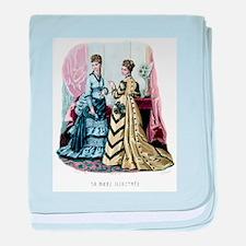 LA MODE ILLUSTREE - 1875 baby blanket