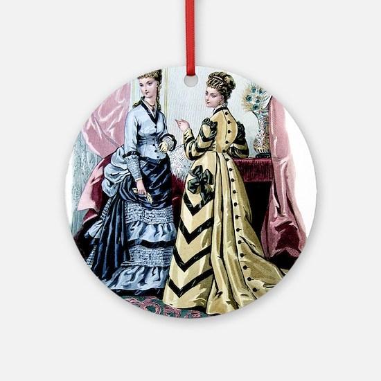 LA MODE ILLUSTREE - 1875 Ornament (Round)