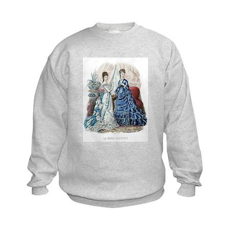 LA MODE ILLUSTREE - 1875 Kids Sweatshirt