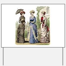Le Monde Elegant - 1882 Yard Sign
