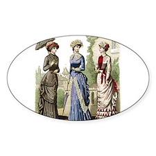 Le Monde Elegant - 1882 Decal