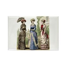 Le Monde Elegant - 1882 Rectangle Magnet