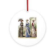 Le Monde Elegant - 1882 Ornament (Round)