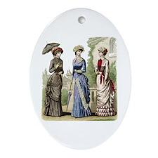 Le Monde Elegant - 1882 Ornament (Oval)