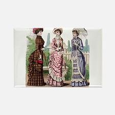 Le Monde Elegant -1881 Rectangle Magnet