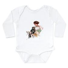 FAITHFUL FRIEND Long Sleeve Infant Bodysuit