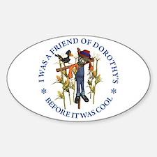 FRIEND OF DOROTHY'S Sticker (Oval)