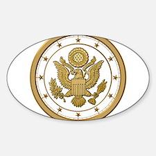 AMERICAN PATRIOT Sticker (Oval)