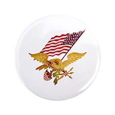 """AMERICAN EAGLE 3.5"""" Button"""