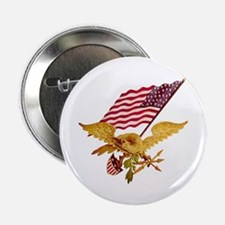 """AMERICAN EAGLE 2.25"""" Button (100 pack)"""