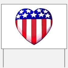 MY AMERICAN HEART Yard Sign