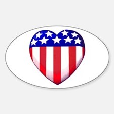 MY AMERICAN HEART Decal