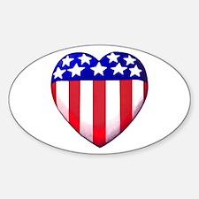 MY AMERICAN HEART Decal
