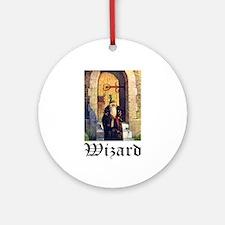 WIZARD Ornament (Round)