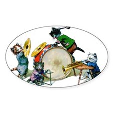 Cool Cats In The Band Decal