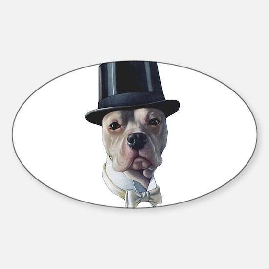 Top Dog Sticker (Oval)