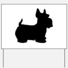 SCOTTY DOG Yard Sign
